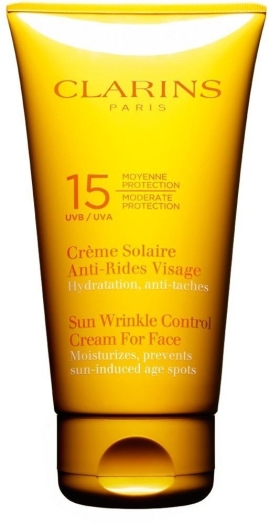 Clarins Sun Care Sun Wrinkle for Face UVB 15 75ml