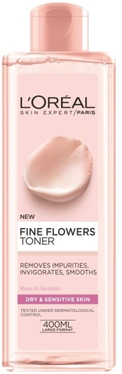 L'Oreal Fine Flowers Toner 400ml
