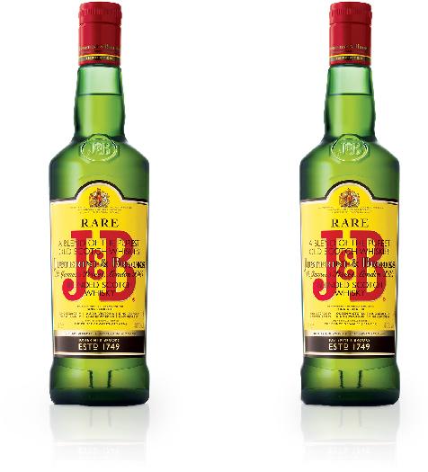 J&B RARE TWIN 1L + 1L
