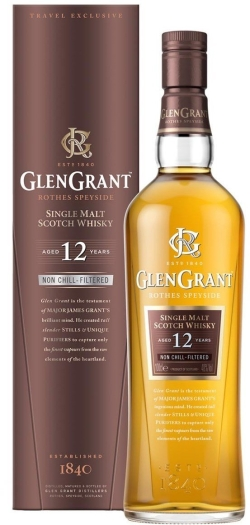 Glen Grant 12yo Whiskey 1L
