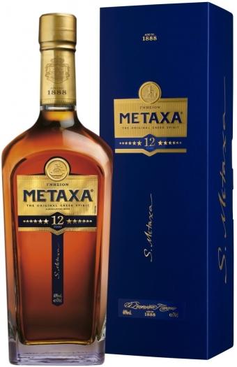 Metaxa 12* 40% 0.7L