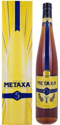Brandy Metaxa 5* 38% 3L