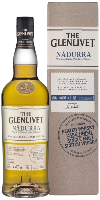 Glenlivet Nadurra Peated Whiskey Cask Finish 48% 1L