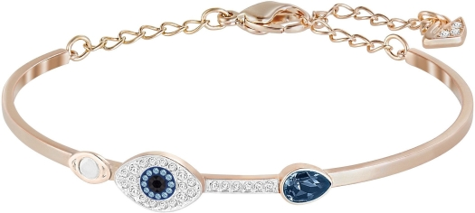 Swarovski Duo Evil Eye Bangle 5171991 Bracelet