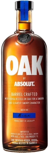 Absolut Oak Vodka 1L