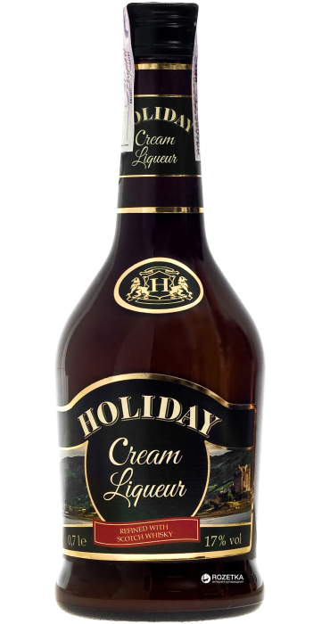 Holiday Sahne-Cream Liqueur with Whiskey 700ml