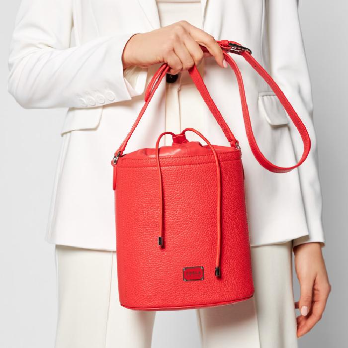 Furla Set S Drawstring Bag, Red 1064136