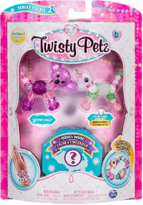 Spin Master Twisty Petz Collectible Bracelet Set 3-Pack 113g