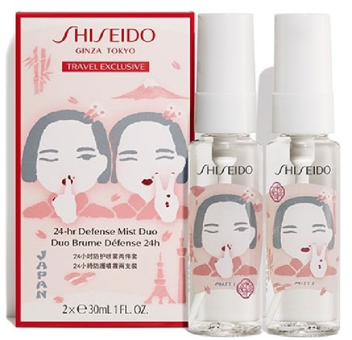 Shiseido 24-hr Defense Mist Duo 2x30ml