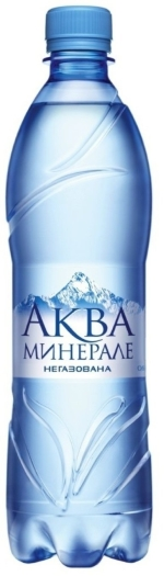 Aqua Mineral Water Pure Still 0.6L