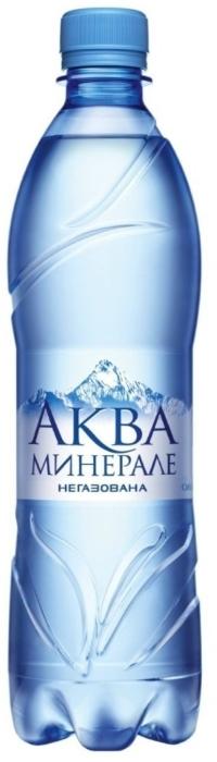 Aqua Mineral Water Pure Still 0.6L
