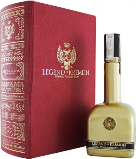 Legend of Kremlin Vodka Folio 0.7L