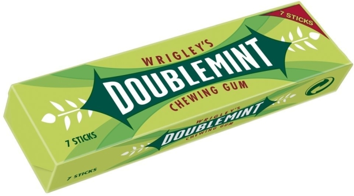 Wrigley's Doublemint Chewing Gum 39g