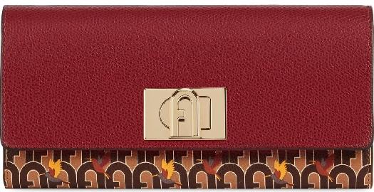 Furla 1927 Continental Wallet,TONI CAFFE+CILIEGI d, PDV3ACOA.01210089S10