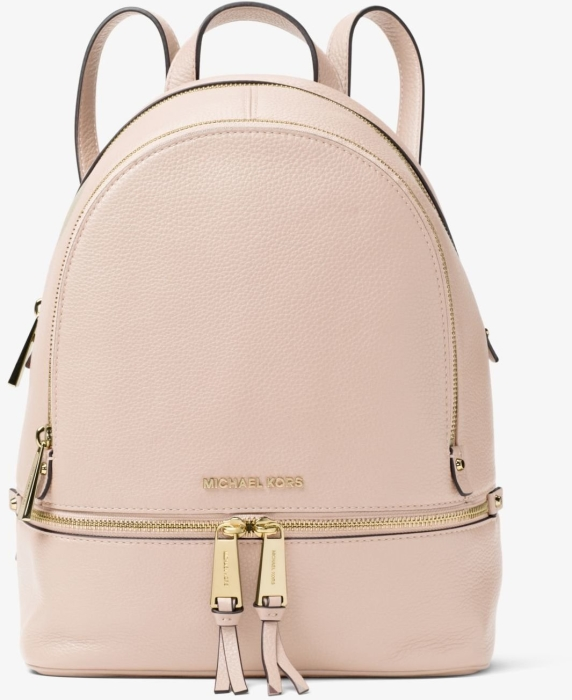 f3724b3a8cf Michael Kors Rhea Medium Leather Backpack in duty-free at airport ...