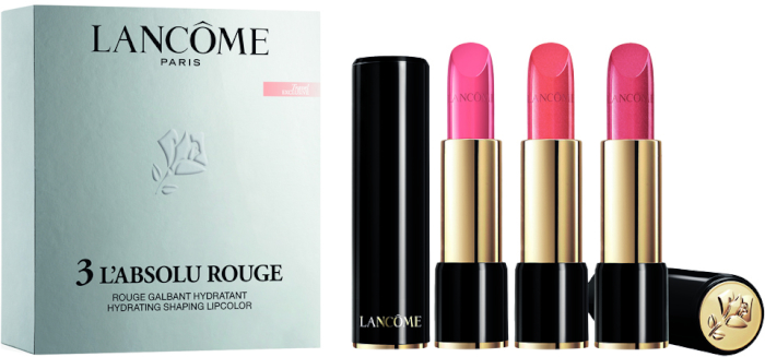 Lancome Absolu Rouge Click Trio Set 3x4.2ml