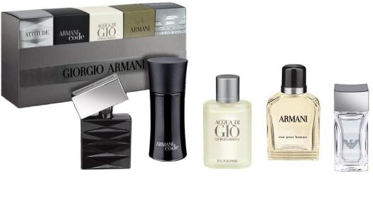 Parfum Set Giorgio Armani 5 bottles (5ml, 5ml, 5ml, 4ml, 4ml)