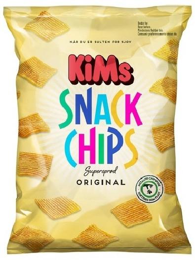 KiMs Snack Chips Original 160g