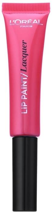 L'Oreal Paris Infaillible Paint Lipstick Lacquer N103 Fuchsia Wars 8ml