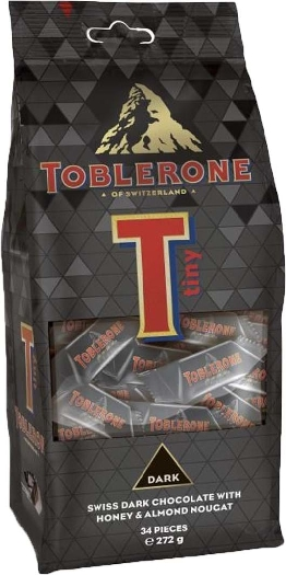 Toblerone Dark Tiny Bag 272g