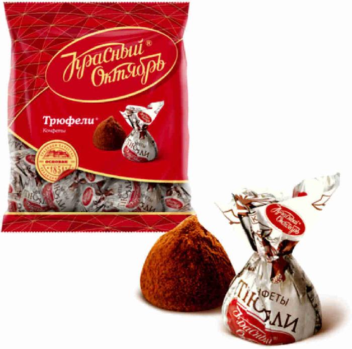 Красный октябрь Sweets Truffles 200G