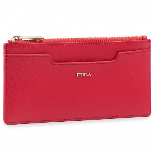 Furla Astrid XL Business Card Case, Red 1046959