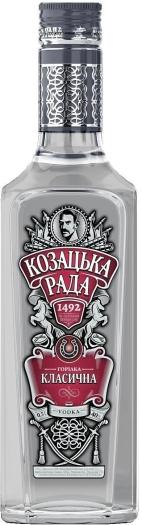 Kozatska Rada Classic 40% 0.5L
