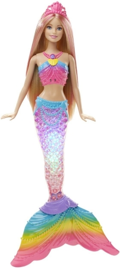 Barbie, rainbow lights mermaid