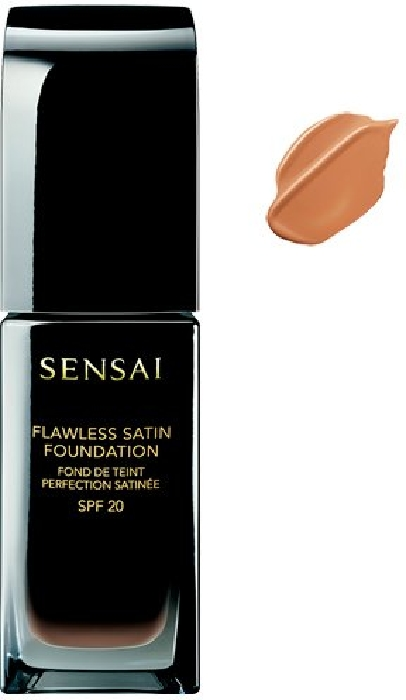 Sensai Flawless Satin Fluid Foundation NFS204.5 Warm Beige 30ml