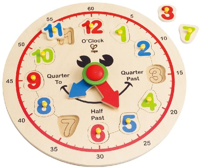 Hape E1600 Happy Hour Clock