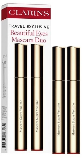 Clarins New Supra Volume Mascara Duo Set