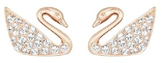 Swarovski Women's swan-shape earrings