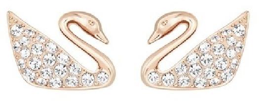 Swarovski Women's swan-shape earrings