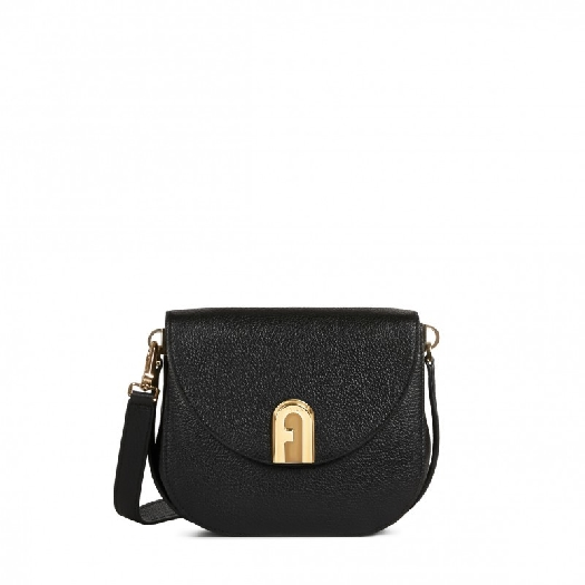 Furla Sleek Mini Crossbody Nero