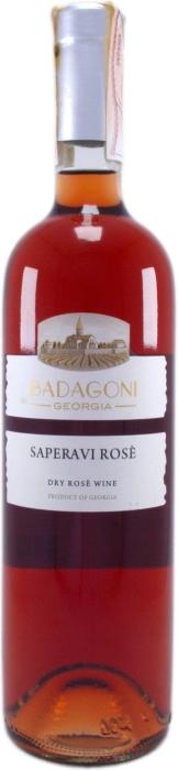 Badagoni Saperavi Rose 0.75L