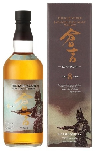 Kurayoshi Malt Whisky 8Y.O. 0.7L