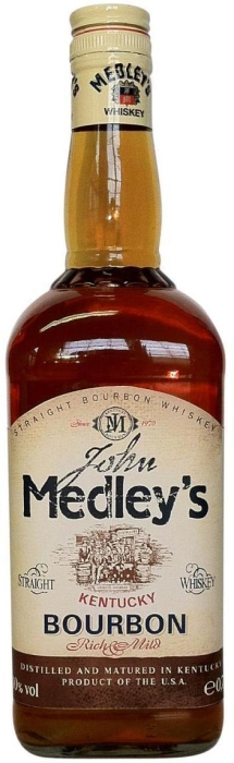 John Medley's Whiskey 40% Bourbon 1L