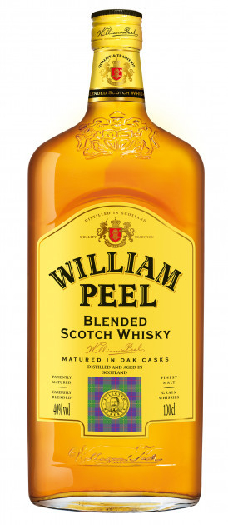 William Peel Blended Scotch Whisky 40% 1L