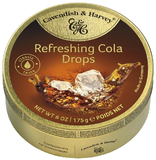 Cavendish&Harvey Refreshing Cola Drops 175g