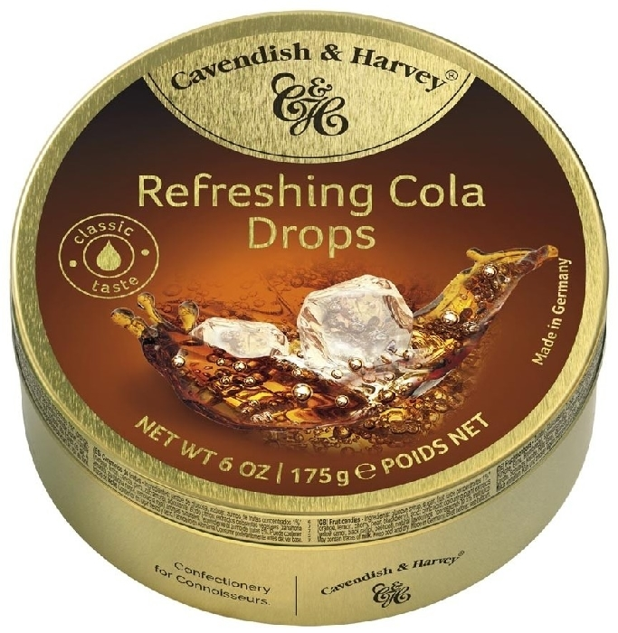 Cavendish&Harvey Refreshing Cola Drops 175g