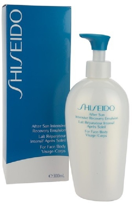 Shiseido Suncare After Sun Intensive Recovery Emulsion for face/body 12585 300ML