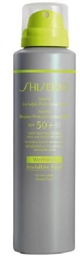 Shiseido Global Suncare Invisible Protective Mist SPF50+ 150 ml