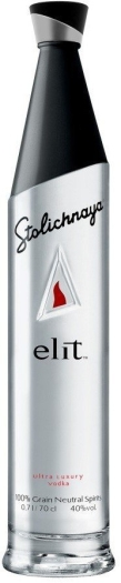 Stolichnaya Elit Ultra Luxury Vodka 1L