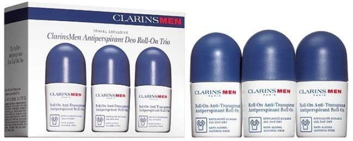 Clarins Men Antiperspirant Deo Roll-on Trio 3х50ml