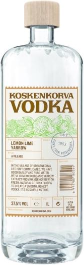 Koskenkorva Lemon Lime Yarrow 37.5% 1L