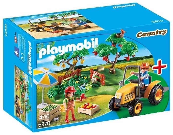 Playmobil Orchard Harvest Starter Set