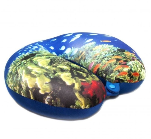 Expedition Travel Pillow Corals