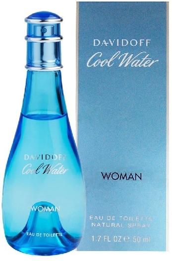 Davidoff Cool Water Woman 50ml