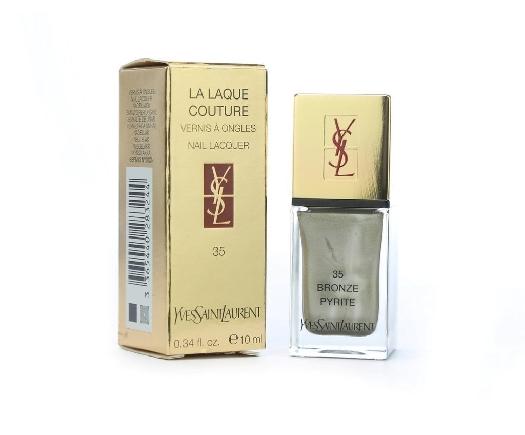 Yves Saint Laurent La Laque Couture N35 Bronze Pyrite 10ml