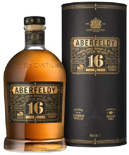 Aberfeldy 16 y.o. Madeira Casks Single Malt Scotch Whisky 1L